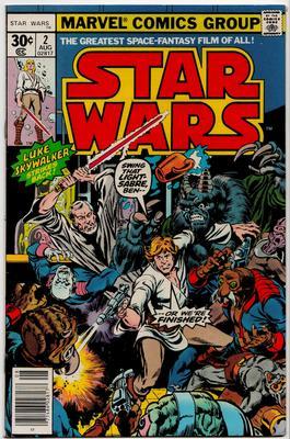 Marvel Star Wars comics Value? SW Issue 2