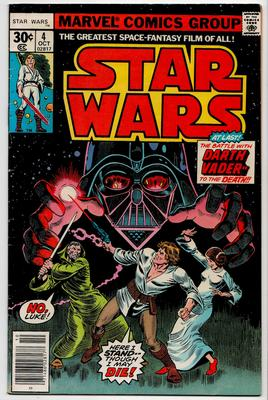Marvel Star Wars comics Value? SW Issue 4