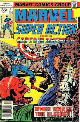 Marvel Super Action #2 35c Price Variant