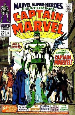 Origin and First Appearance, Captain Marvel (Mar-Vell), Marvel Super Heroes #12, Marvel Comics, 1967. Click for value