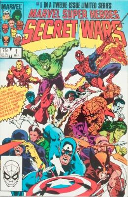 Origin and First Appearance, Beyonder, Marvel Super Heroes Secret Wars #1, Marvel Comics, 1984. Click for value
