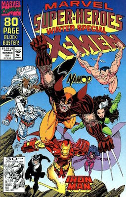 Marvel Super-Heroes #8 (1992, Winter Special on cover) Origin and 1st Appearance, Squirrel Girl. Click to find a copy
