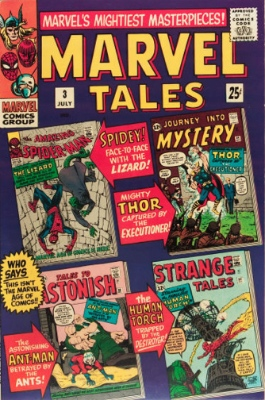 Marvel Tales #3: Reprints Tales to Astonish Ant-Man story. Click for values