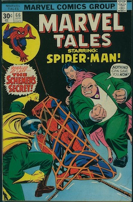 Marvel Tales #66 Marvel 30 Cent Price Variants April, 1976. Regular Price Box