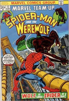 Origin and First Appearance, Moondark, Marvel Team-Up #12, Marvel Comics, 1973. Click for value