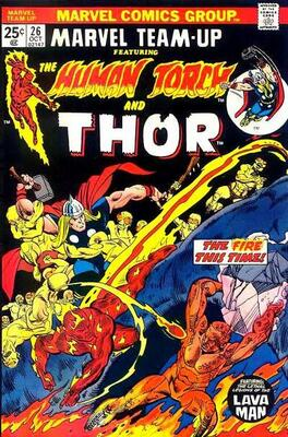 Origin and First Appearance, They Who Wield Power, Marvel Team-Up #26, Marvel Comics, 1974. Click for value
