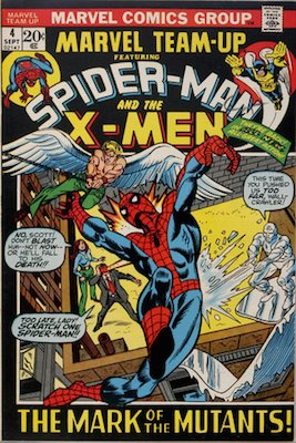 DROPPED OUT OF THIS YEAR'S LIST: Marvel Team-Up #4, Spider-Man and X-Men vs Morbius
