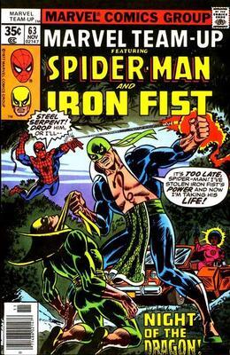 Origin and First Appearance, Basilisk, Marvel Team-Up #63, Marvel Comics, 1973. Click for value
