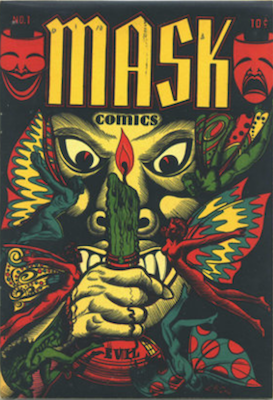 Mask Comics #2: LB Cole Cover. RARE! Click for live prices