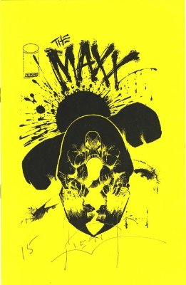 The Maxx Ashcan #3 (1993): Low print run, small size comic, a rare modern. Click for values