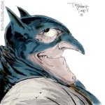 Batman vs Penguin?! A cross between the two, as imagined by Todd McFarlane