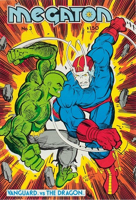 First Appearance, Savage Dragon, Megaton #3, Image Comics, 1986. Click to see values