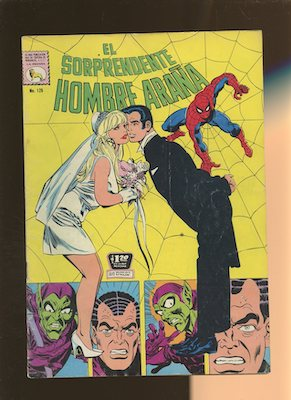 Mexican Spider-Man series -- the OTHER wedding issue!
