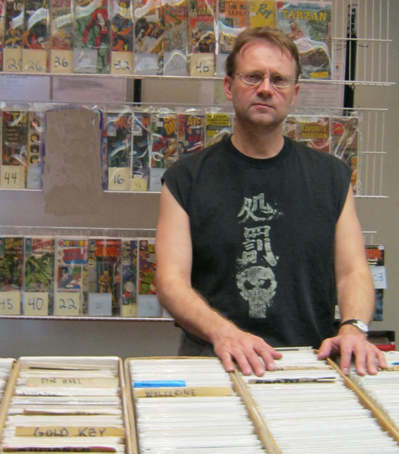 Mike Ivanusic shares his memories of being a mini comic vendor