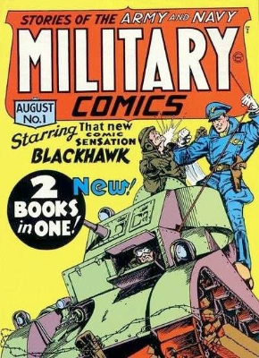 Military Comics was published by Quality Comics. Click for values