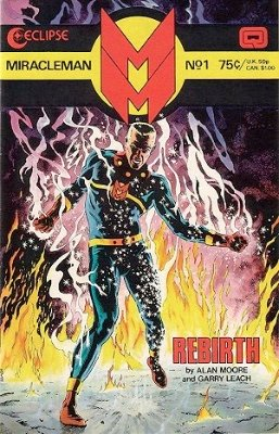 Miracleman #1 Gold Edition (August 1985): First Appearance, Miracleman. Click for values
