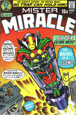 Mister Miracle #1. Click for values.