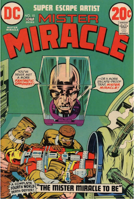 Mister Miracle #10. Click for values.