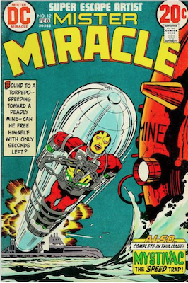 Mister Miracle #12. Click for values.