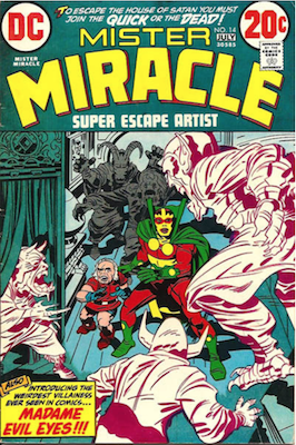 Mister Miracle #14. Click for values.