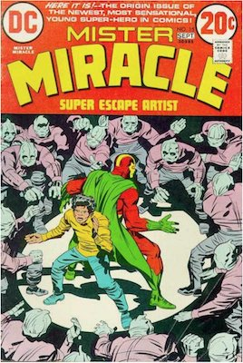 Mister Miracle #15. Click for values.