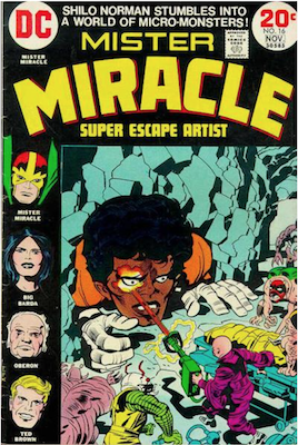 Mister Miracle #16. Click for values.