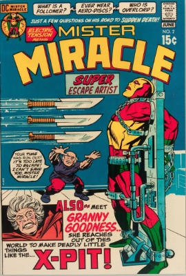 Origin and First Appearance, Doctor Bedlam, Mister Miracle #2, DC Comics, 1971. Click for value