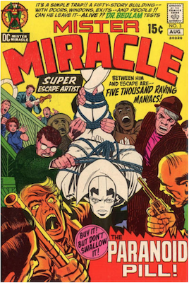 Mister Miracle #3. Click for values.