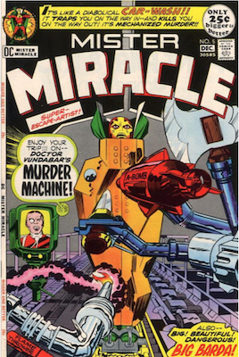 Mister Miracle #5. Click for values.