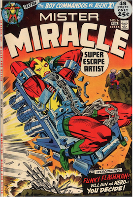 Mister Miracle #6. Click for values.