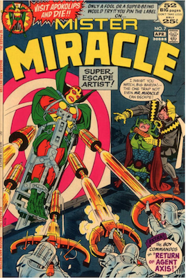 Mister Miracle #7. Click for values.