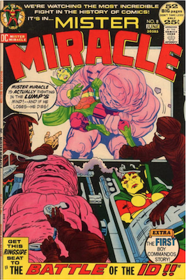 Mister Miracle #8. Click for values.
