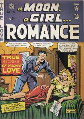 Moon… A Girl Romance #9: First Moon Girl romance comic. Click for values