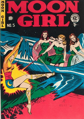 Moon Girl #5 (1948): The first of EC's infamous horror comic books. Click for values