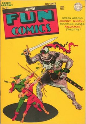 More Fun Comics #101 (Jan 1945): Origin and First Appearance, Superboy. Click for values