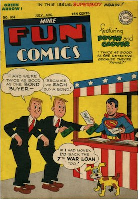 More Fun Comics #104. Click for current values.