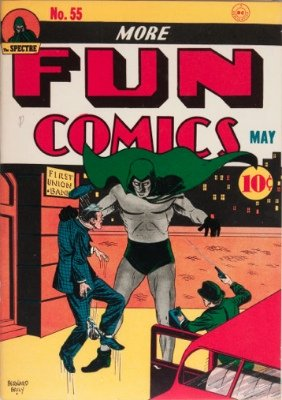 More Fun Comics #55: First Appearance, Dr. Fate. Click to find out values of this rare Golden Age comic book