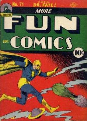 More Fun Comics #71: Origin and First Appearance, Johnny Quick. Click for values