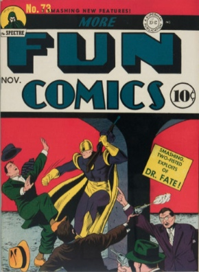 More Fun Comics #73: Origin and First Appearance, Aquaman. Click for values