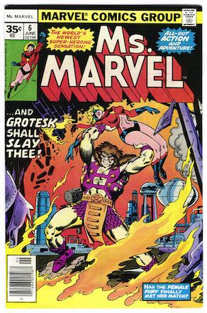 Ms. Marvel #6 35 Cent Variant