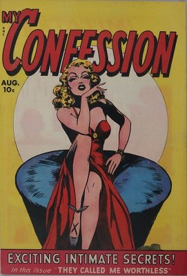 My Confession #7: Rare first issue of the series. Click for value