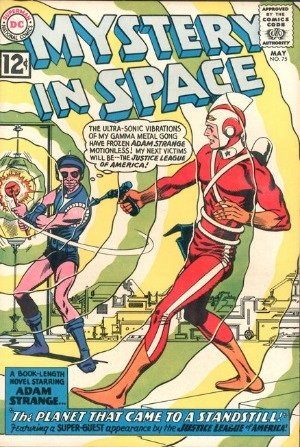 Mystery in Space #75 is actually the fourth JLA comic in the official series. Published in 1961, you should get a copy if you want a complete run of Justice League of America