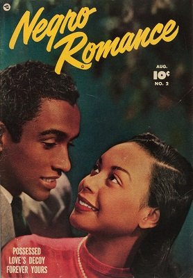 Negro Romance #2: exceptionally rare romance comic book