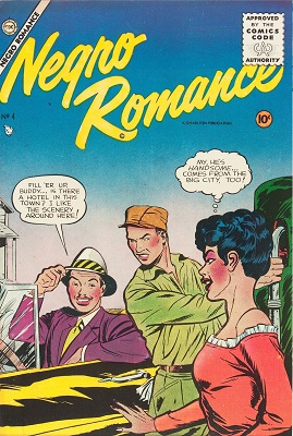 Negro Romances #4: Reprints Negro Romances #2; rare