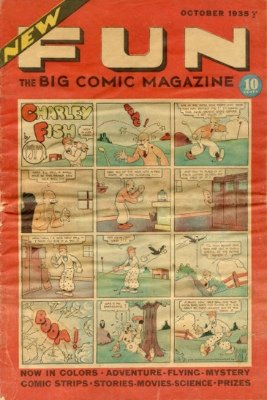 New Fun Comics #6: Origin and First Appearance, Dr. Occult. A very rare comic book. Click for values
