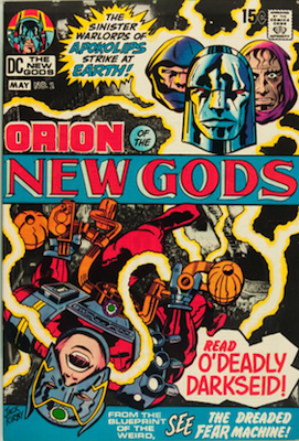 New Gods #2 (Marvel, 1971): Second Full Appearance of Darkseid. Click for values