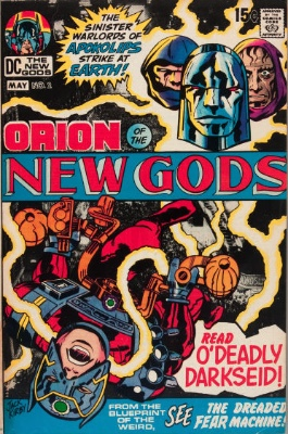 Origin and First Appearance, Deep Six, New Gods #2, DC Comics, 1971. Click for value