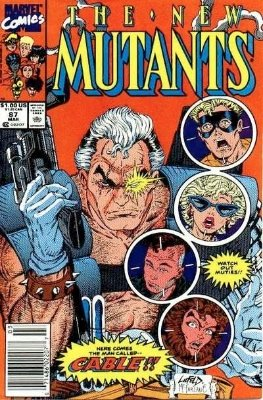 New Mutants #87 (1990): First Full Appearance, Cable. Click for values