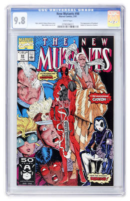 A clean CGC 9.8 copy of New Mutants #98 is always going to sell easily. Whether it's too late to invest is another matter. Click to buy