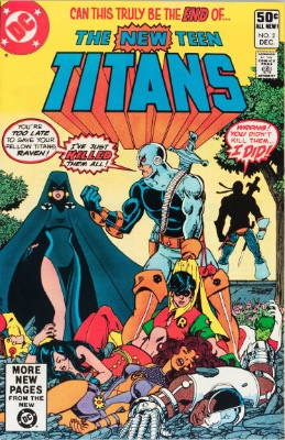 Origin and First Appearance, Deathstroke, New Teen Titans #2, DC Comics, 1980. Click for value